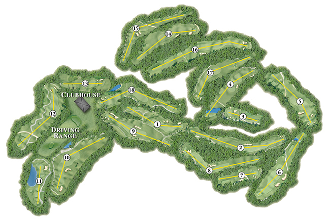Blackstone National Golf Club - Course Layout & Tour