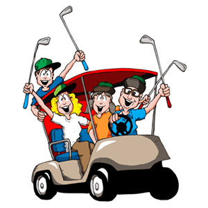 Image result for kids golf leagues cartoon